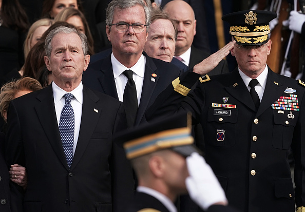 Jeb Bush「State Funeral Held For George H.W. Bush At The Washington National Cathedral」:写真・画像(10)[壁紙.com]
