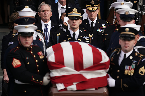 Funeral「State Funeral Held For George H.W. Bush At The Washington National Cathedral」:写真・画像(16)[壁紙.com]