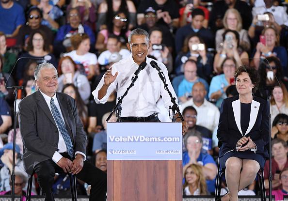 University of Nevada Las Vegas「Former President Obama Speaks At Rally For Nevada Democrats In Las Vegas」:写真・画像(19)[壁紙.com]