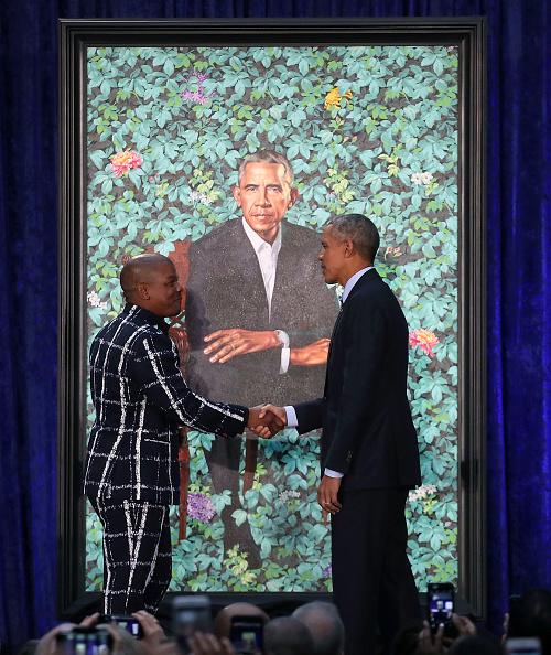 Mark Wilson「Barack And Michelle Obama Attend Portrait Unveiling At Nat'l Portrait Gallery」:写真・画像(12)[壁紙.com]