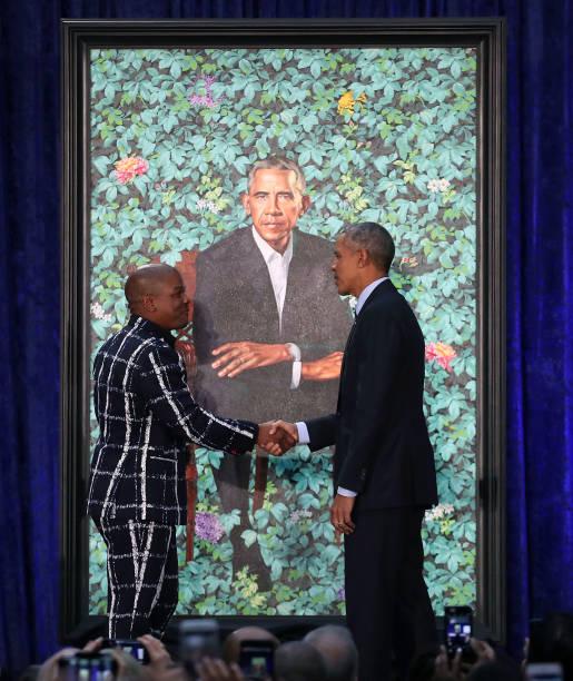 Barack And Michelle Obama Attend Portrait Unveiling At Nat'l Portrait Gallery:ニュース(壁紙.com)