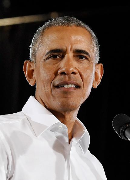 ポートレート「Former President Obama Speaks At Rally For Nevada Democrats In Las Vegas」:写真・画像(1)[壁紙.com]