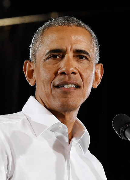 Barack Obama「Former President Obama Speaks At Rally For Nevada Democrats In Las Vegas」:写真・画像(7)[壁紙.com]