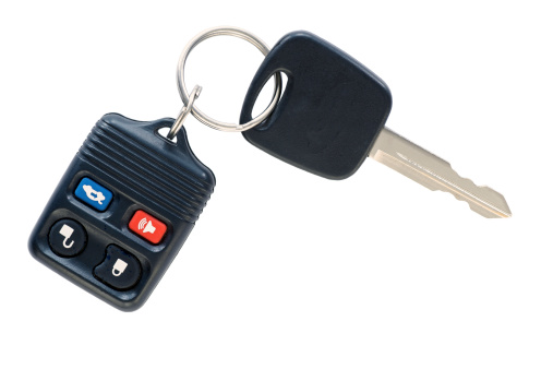 Car Key「Isolated car key and remote.」:スマホ壁紙(7)