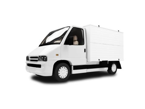 シルエット「isolated cargo car over white background」:スマホ壁紙(11)
