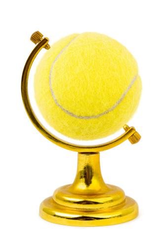 Competitive Sport「Tennis ball like a globe」:スマホ壁紙(2)