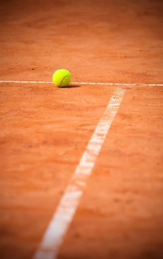 クレイコート「テニスボール」:スマホ壁紙(5)