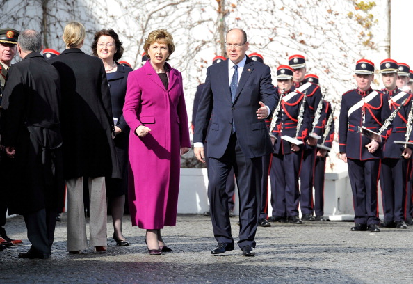 Monaco Royalty「Prince Albert II Of Monaco And Charlene Wittstock State Visit To Ireland - Day 1」:写真・画像(2)[壁紙.com]