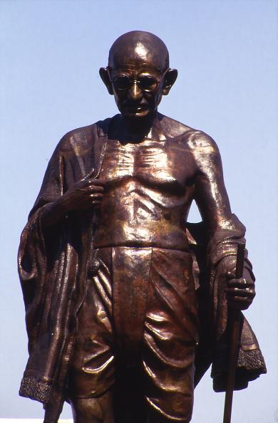 Sculpture「A Statue Of Mahatma Gandhi」:写真・画像(1)[壁紙.com]