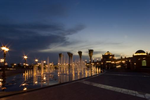 Presidential Palace「Abu Dhabi Palace sunset」:スマホ壁紙(16)