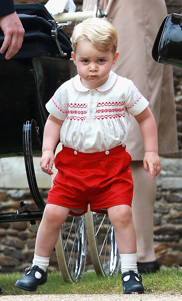 Prince George of Cambridge「The Christening Of Princess Charlotte Of Cambridge」:写真・画像(9)[壁紙.com]