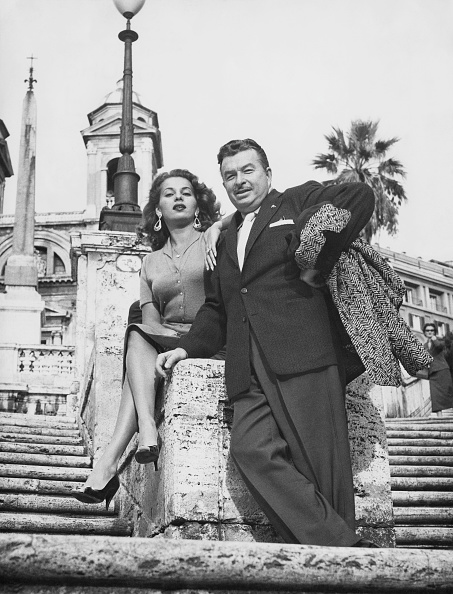 Two People「Xavier Cugat And Abbe Lane」:写真・画像(3)[壁紙.com]