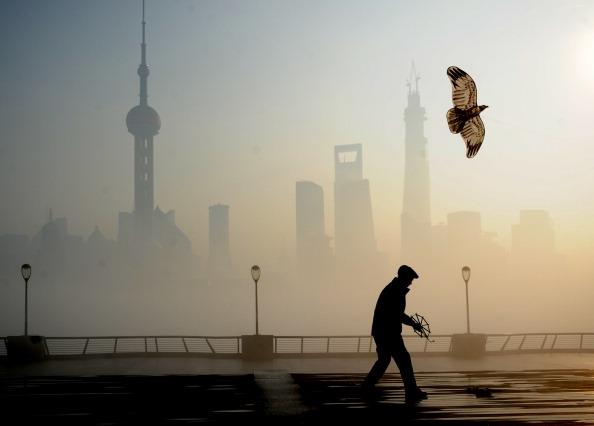 Shanghai「Heavy Smog Hits East China」:写真・画像(3)[壁紙.com]