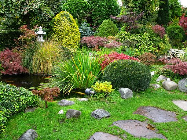 Japanese garden:スマホ壁紙(壁紙.com)