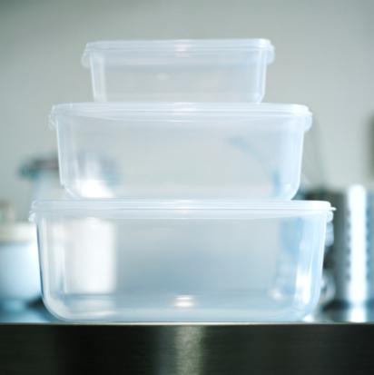 Lunch Box「Three food storage boxes, close-up」:スマホ壁紙(2)
