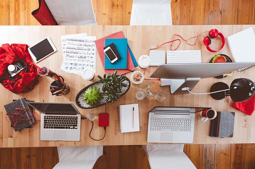 Portable Information Device「Creative working desk」:スマホ壁紙(18)