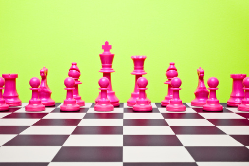 Hot Pink「1980's inspired hot pink chess team」:スマホ壁紙(16)