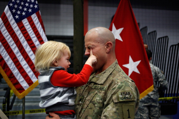 Fort Knox「Soliders From Army's 3rd Brigade Return Home From Afghanistan To Fort Knox」:写真・画像(7)[壁紙.com]