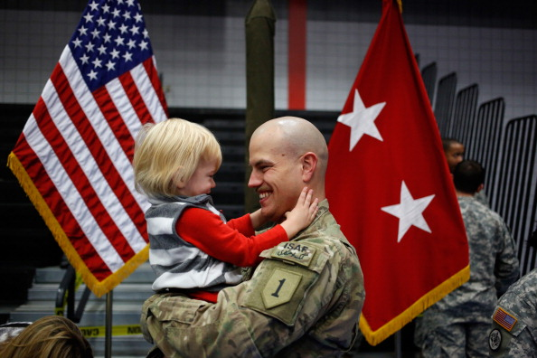 Fort Knox「Soliders From Army's 3rd Brigade Return Home From Afghanistan To Fort Knox」:写真・画像(10)[壁紙.com]