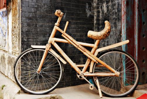 Bamboo - Material「Bamboo bicycle」:スマホ壁紙(10)