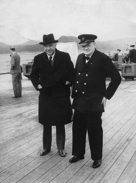 Boat Deck「Churchill And Beaverbrook」:写真・画像(1)[壁紙.com]