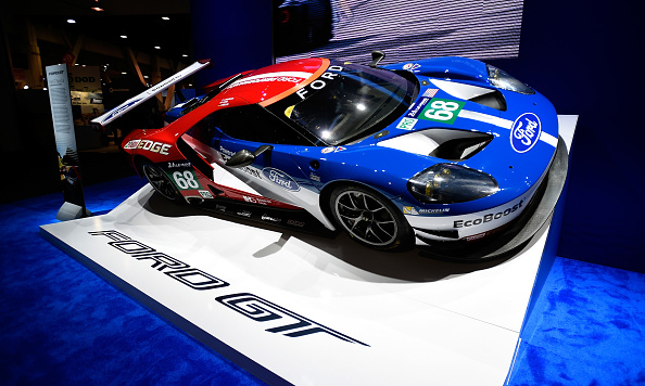 Ford GT「Latest Consumer Technology Products On Display At CES 2017」:写真・画像(4)[壁紙.com]