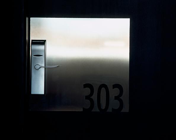 Rectangle「View of a metallic door」:写真・画像(6)[壁紙.com]