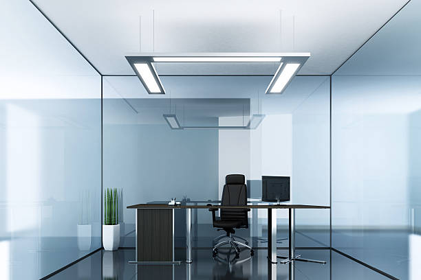 Blue Glass Office:スマホ壁紙(壁紙.com)