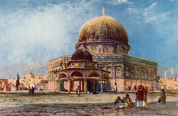 UNESCO World Heritage Site「Dome Of The Rock With Dome Of The Chain (Kubbet Es Silseleh)」:写真・画像(10)[壁紙.com]