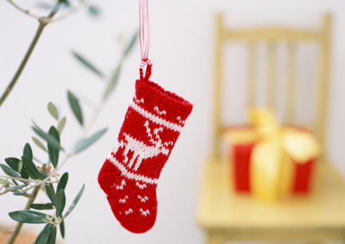 Annual Event「A red wool Christmas stocking」:スマホ壁紙(3)