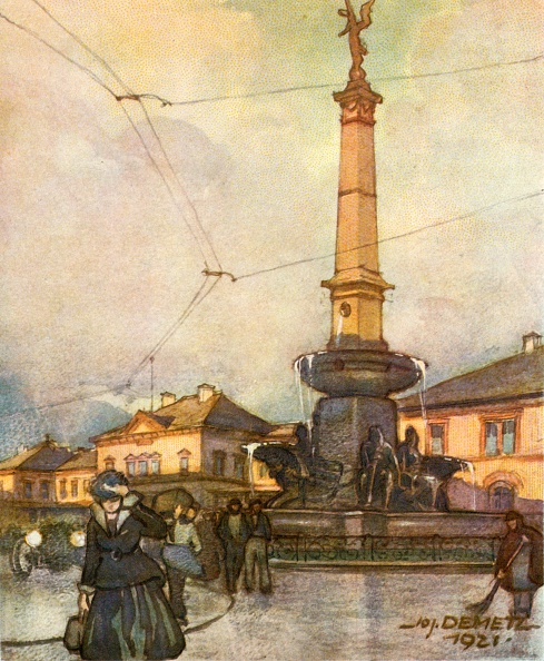 北チロル「Bahnhof Mit Vereinigungsbrunnen」:写真・画像(9)[壁紙.com]