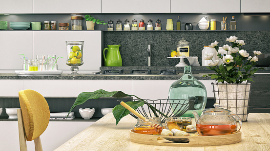 Kitchen Counter「Kitchen close-up」:スマホ壁紙(7)