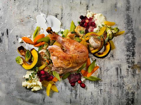 Turkey - Bird「Roast Turkey Dinner」:スマホ壁紙(3)