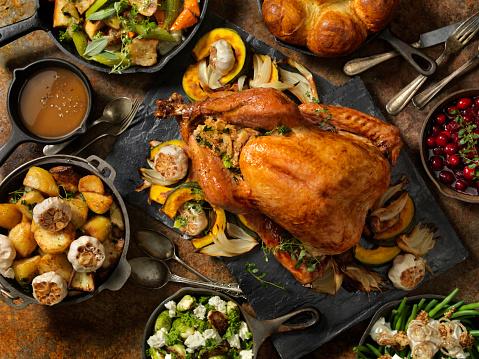 Thanksgiving「Roast Turkey Dinner」:スマホ壁紙(11)