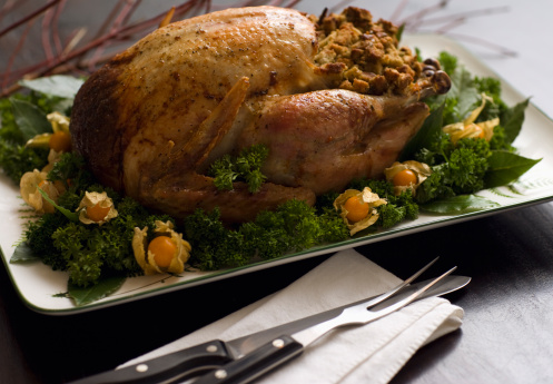 Stuffed Turkey「Roast Turkey Dinner」:スマホ壁紙(1)