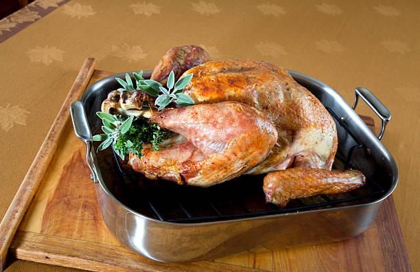 Roast Turkey in Baking Pan:スマホ壁紙(壁紙.com)