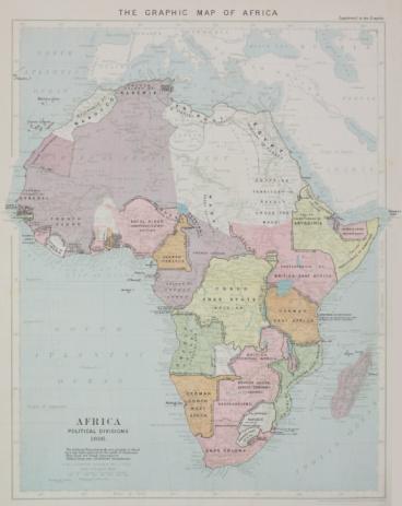 Latitude「Map of Africa」:スマホ壁紙(9)