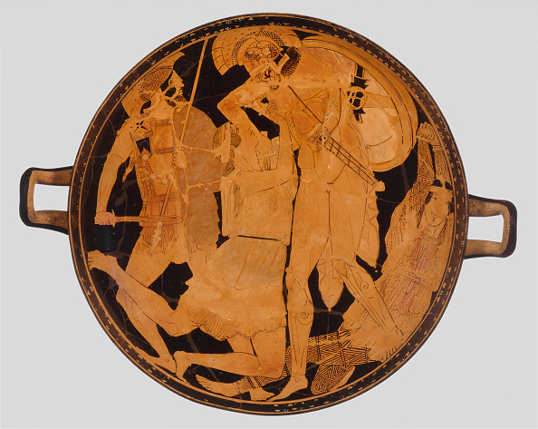 Red-Figure Ceramics「Cup With Achilles Slaying Penthesilea Red-Figure Pottery」:写真・画像(0)[壁紙.com]