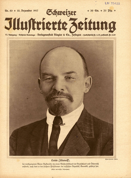 Lithograph「The Schweizer Illustrierte Zeitung With Lenin On The Title Page Of 15 December 1917」:写真・画像(17)[壁紙.com]