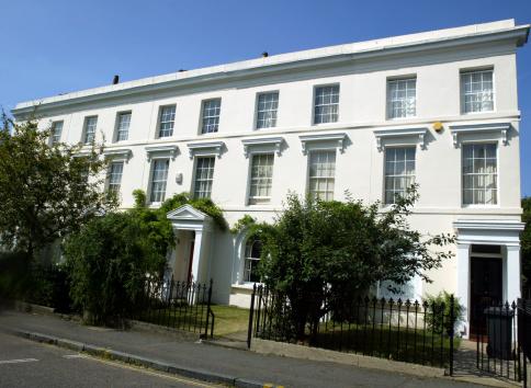 Regency Style「Terrace of White London Town Houses」:スマホ壁紙(14)