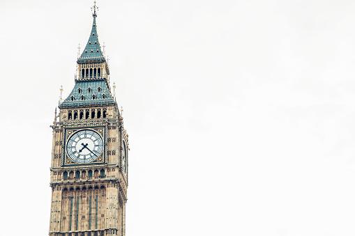 時計「象徴的なビッグベン」:スマホ壁紙(4)
