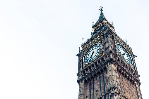 時計「象徴的なビッグベン」:スマホ壁紙(6)