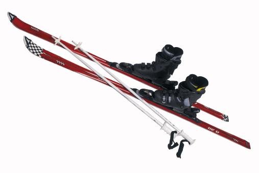 スキー「Pair of alpine skis」:スマホ壁紙(2)