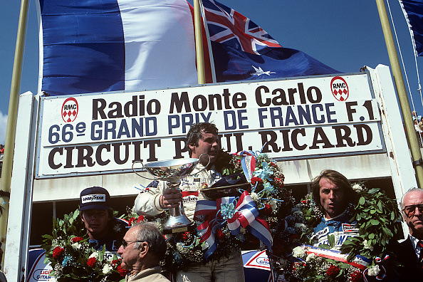 1980-1989「Alan Jones, Grand Prix Of France」:写真・画像(3)[壁紙.com]