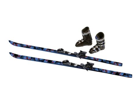 スキーブーツ「Skis and Ski Boots」:スマホ壁紙(19)