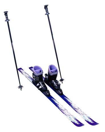 スキーストック「Skis and Ski Poles」:スマホ壁紙(6)