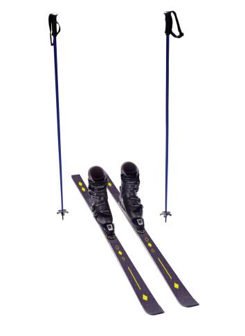 スキーブーツ「Skis and Ski Poles」:スマホ壁紙(16)