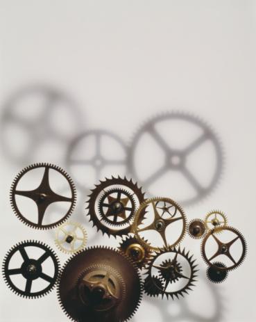 Watch - Timepiece「Assorted wrist watch cogs, close-up」:スマホ壁紙(11)