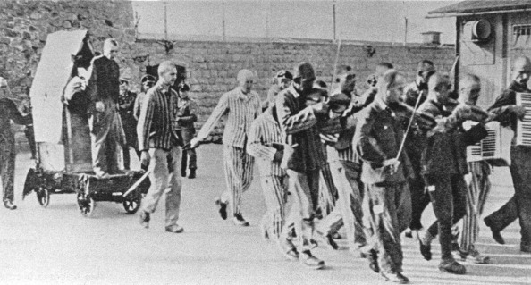 Music「Prisoners Are Forced To Give Company To  Fellow Sufferers  With Happy Music  To Execution. Mauthausen Concentration Camp. Austria. Photograph. Ca. 1943.」:写真・画像(16)[壁紙.com]