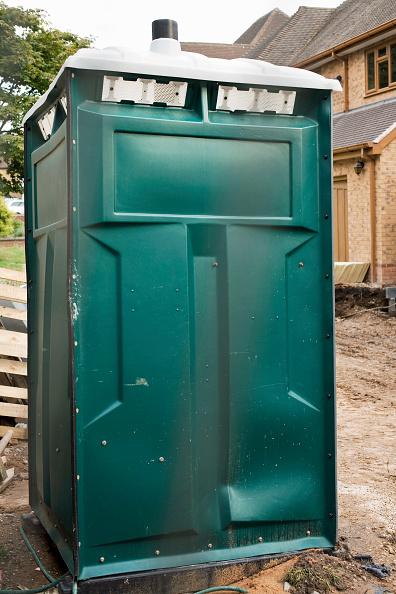 Toilet「Portaloo on building site, Four Oaks, West Midlands」:写真・画像(0)[壁紙.com]